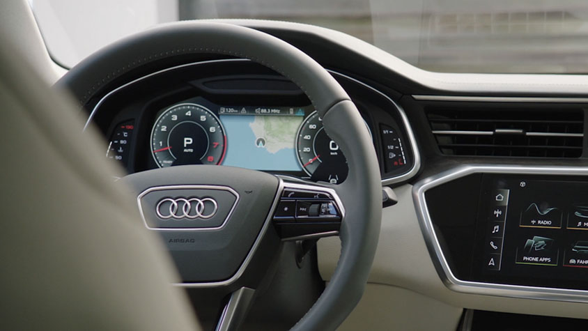 MMI Navigation plus del Nuevo Audi A6 Sedan